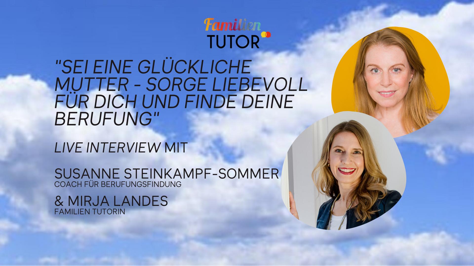 Family Friday Tutorial mit Susanne Steinkampf-Sommer
