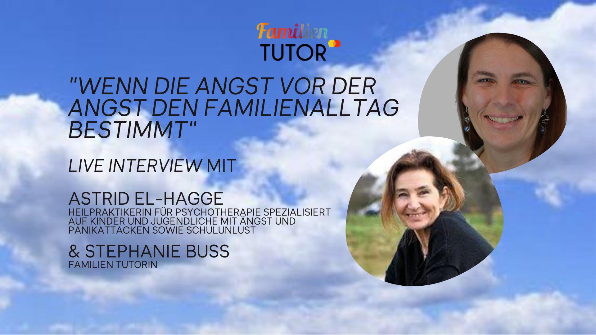 Family Friday Tutorial mit Astrid El-Hagge