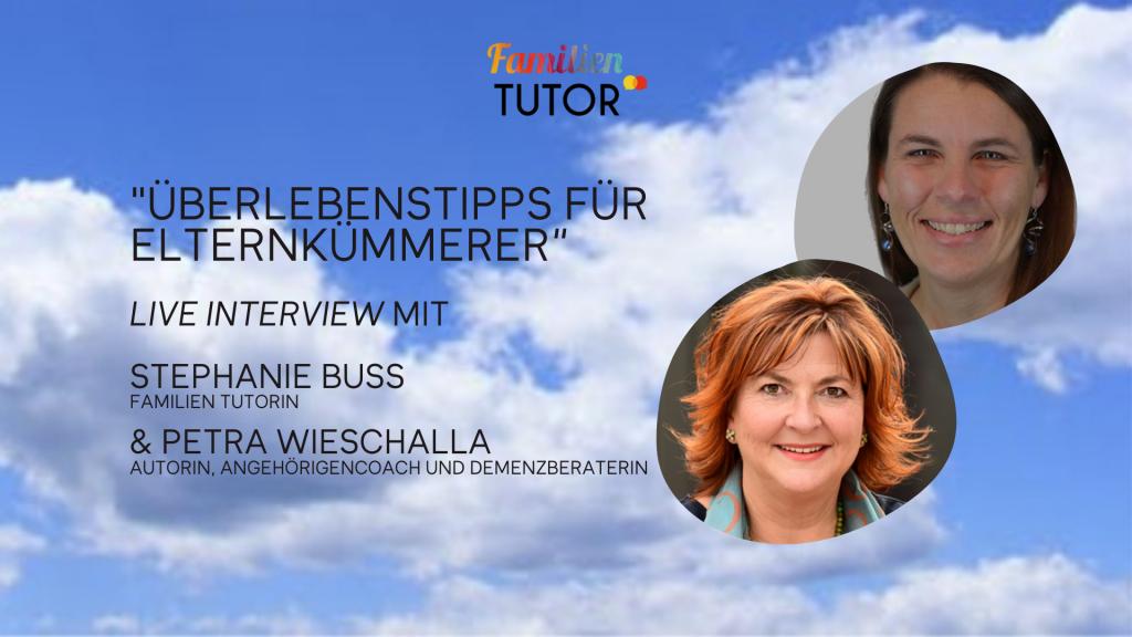 """Live-Interview: """"Überlebenstipps für Elternkümmerer"""""""