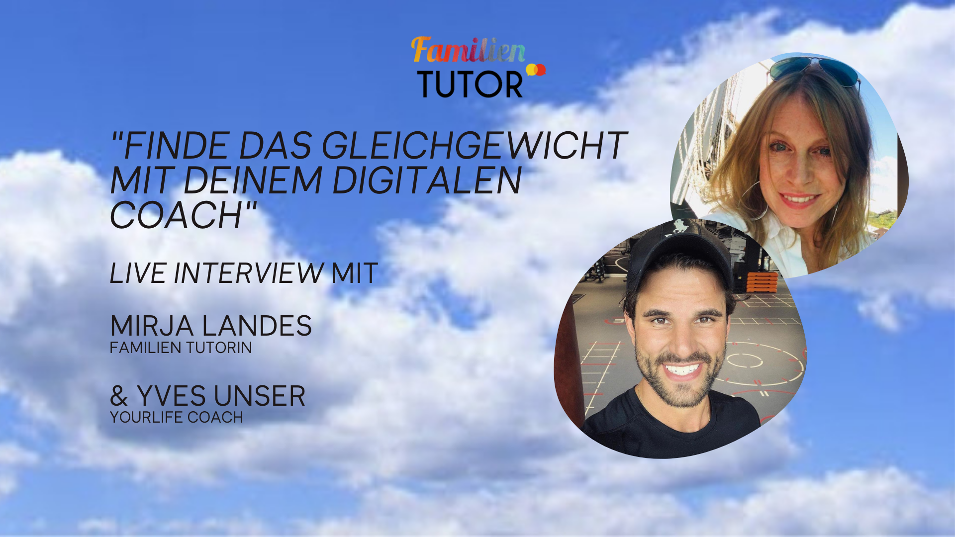 Family Friday Tutorial mit Yves Unser
