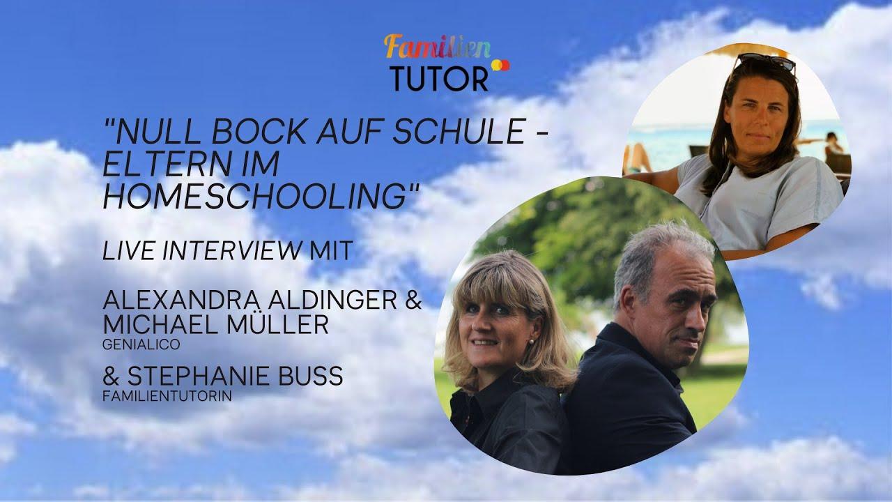 Family Friday Tutorial mit Alexandra Aldinger & Michael Müller