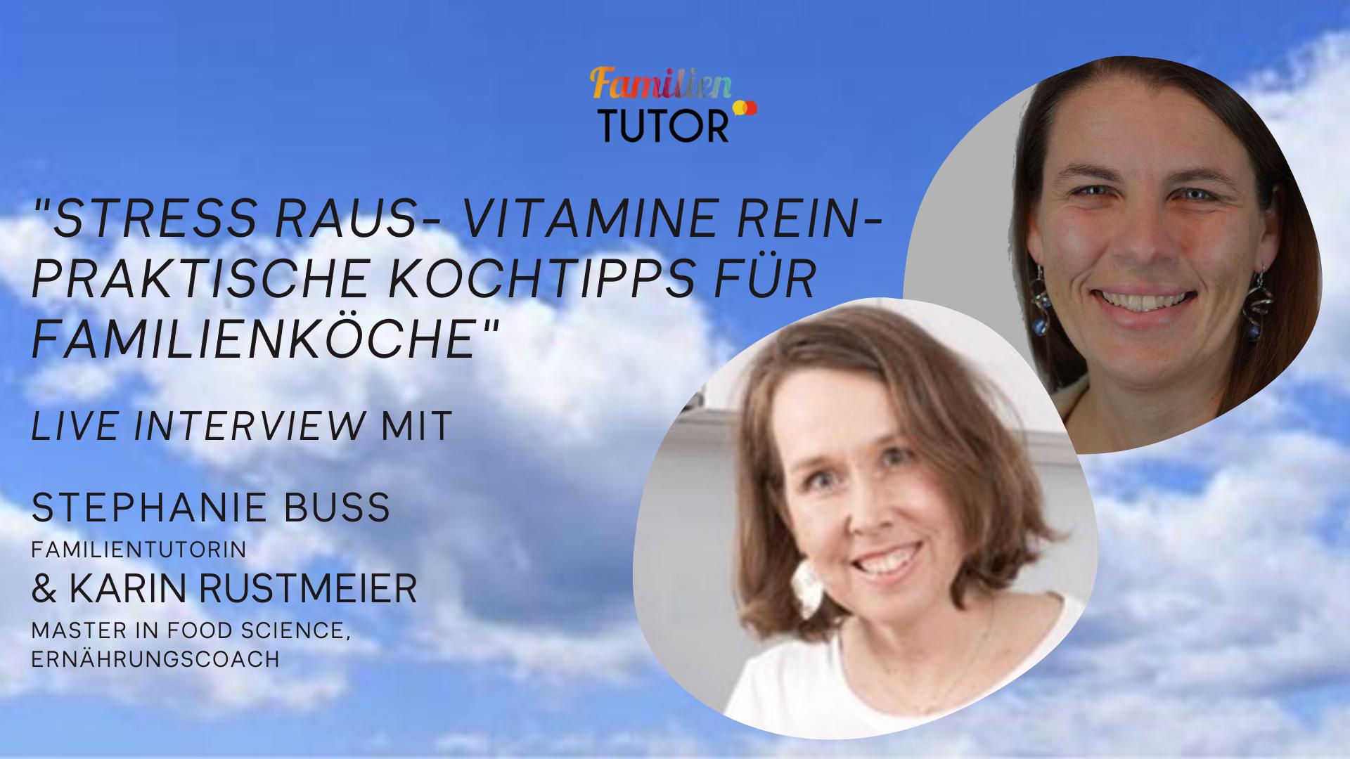 Family Friday Tutorial mit Karin Rustmeier