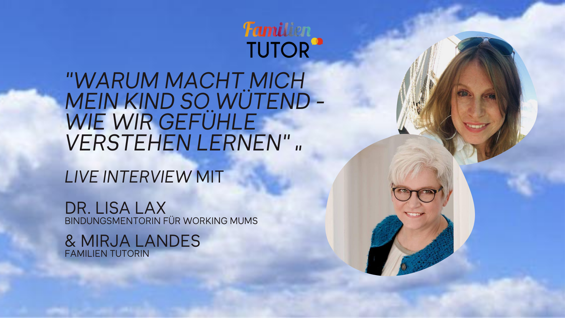 Family Friday Tutorial mit Dr. Lisa Lax