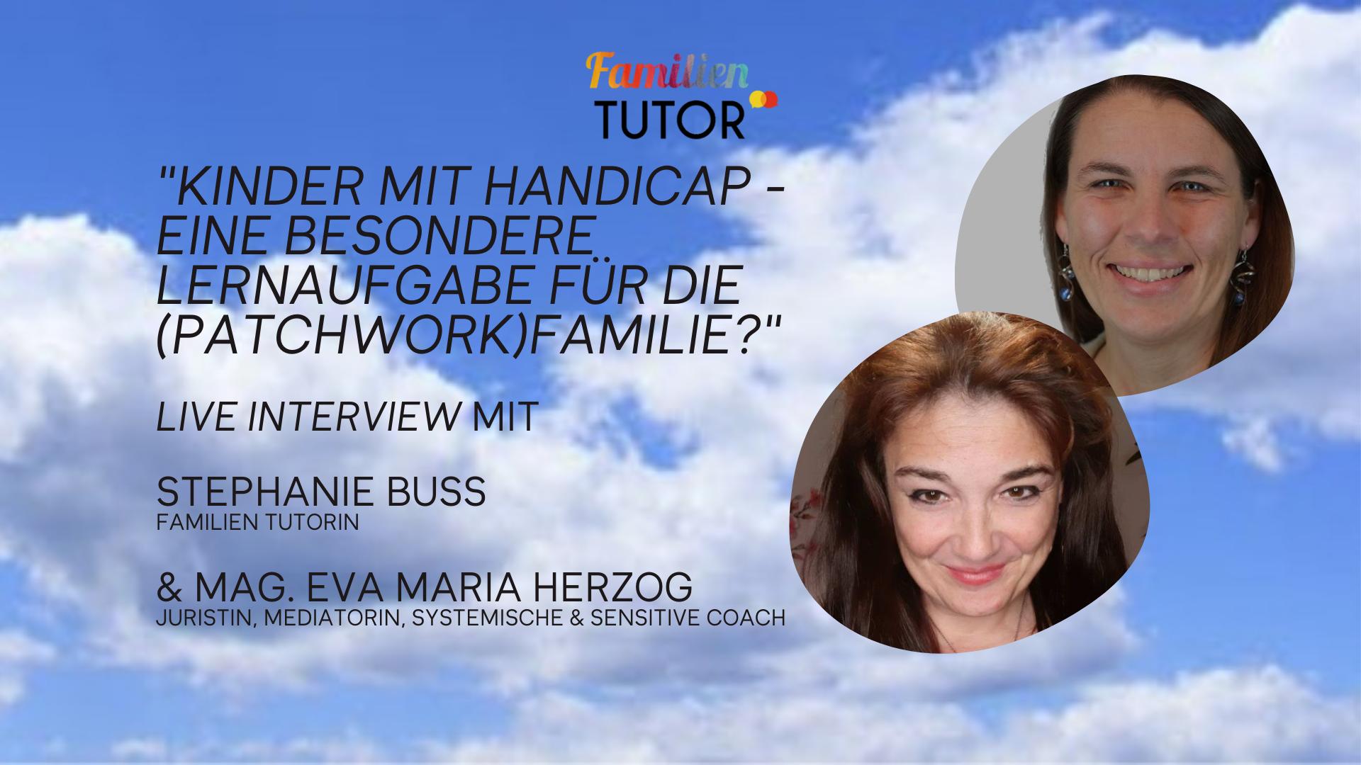 """Live-Interview: """"Kinder mit Handicap - Eine besondere Lernaufgabe für die Familie?"""""""