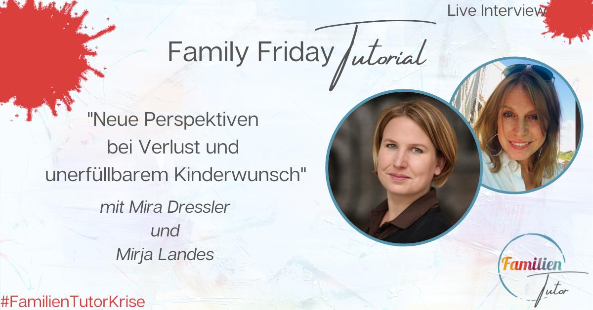 """Live-Interview: """"Neue Perspektiven bei Verlust und unerfüllbarem Kinderwunsch"""""""