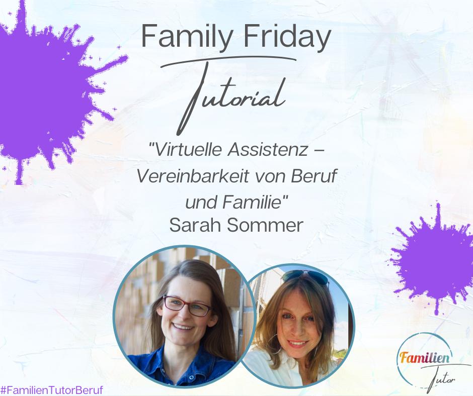 """Live-Interview: """"Virtuelle Assistenz – Vereinbarkeit von Beruf und Familie"""""""