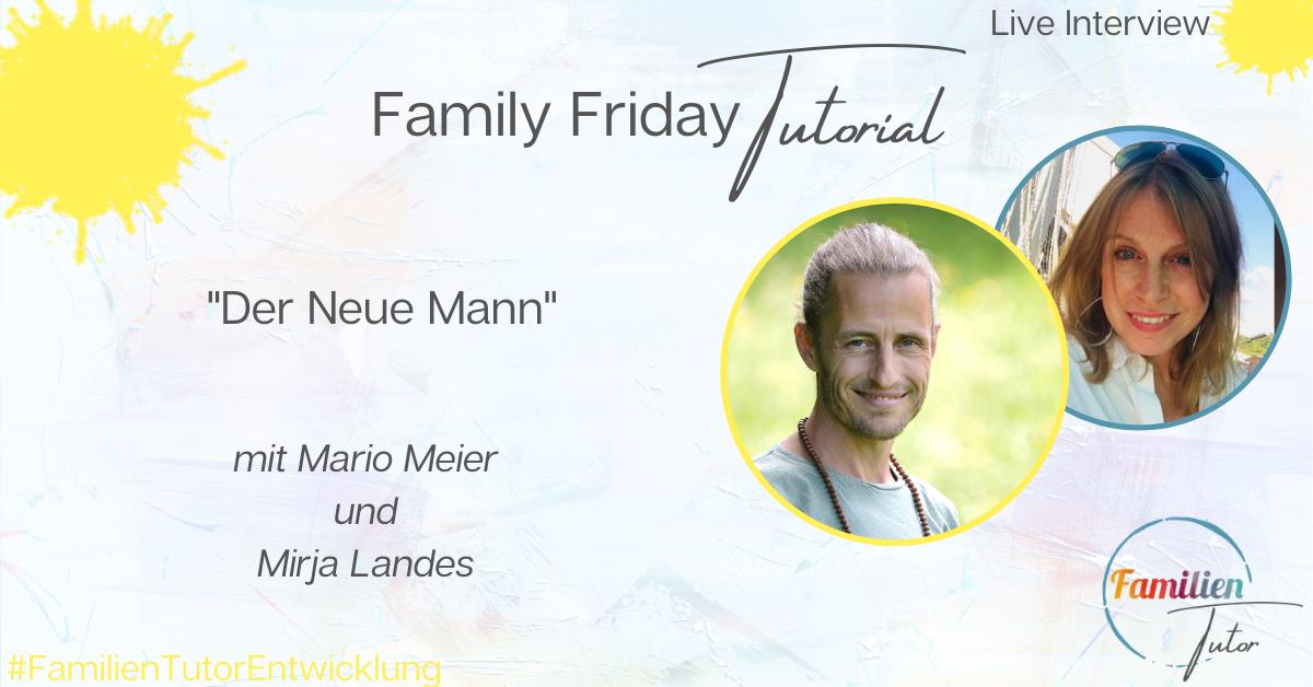 """Live-Interview: """"Der Neue Mann"""""""