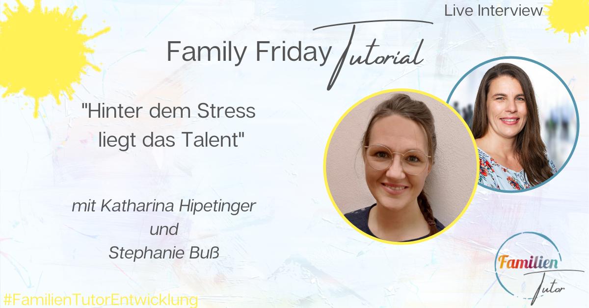 """Live-Interview: """"Hinter dem Stress liegt das Talent"""""""